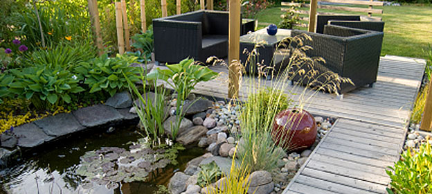 Clark property maintenance landscaping designer durham for Pond maintenance companies